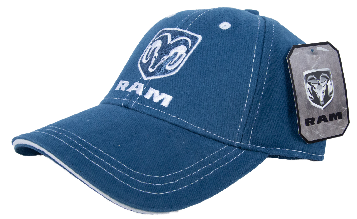 Dodge Ram Hat Logo Embroidered Cap