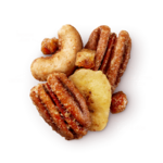 Banana Rum Pecans Glazed Mix