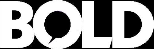 Bold white logo