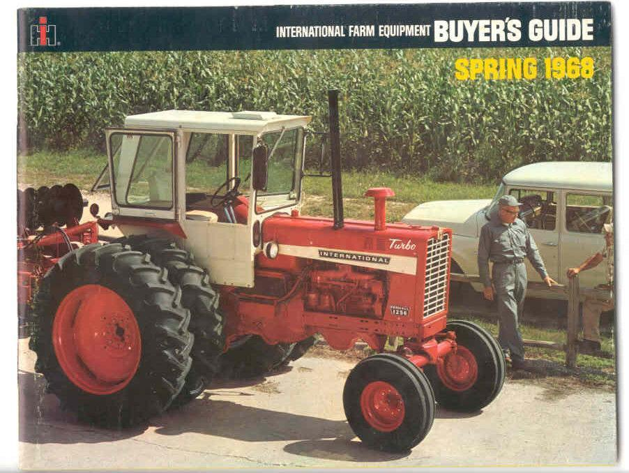 Red Brand New Farmall Tractors : Brand new on the cover of buyers guide from