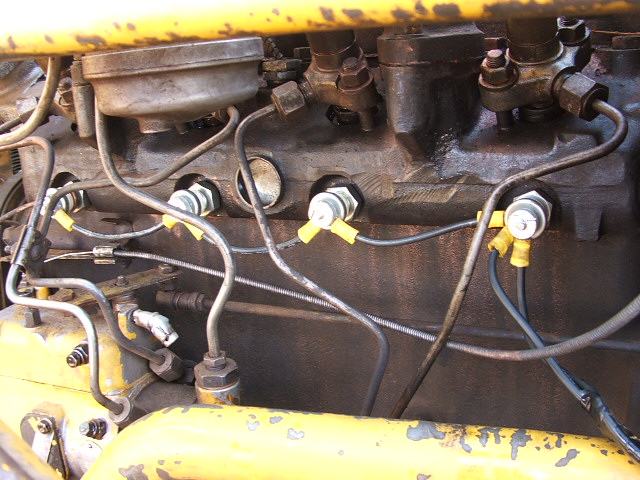 Ih 3444 Backhoe Help Needed On Glow Plug Wiring - Ih Construction Equipment