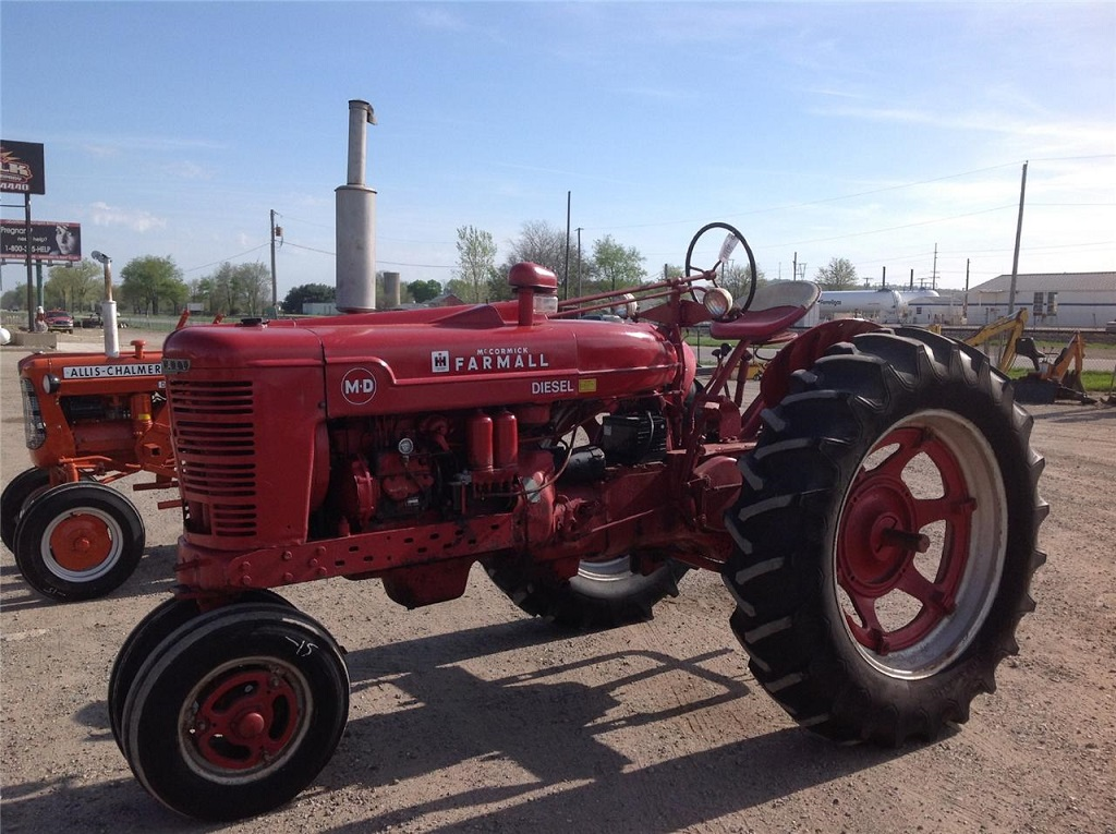 Ih 560 Turbo : Can you put a turbo on farmall md general ih red