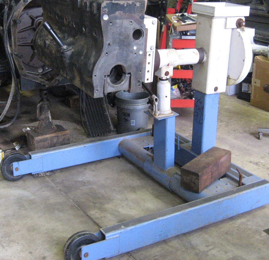 Homemade engine stands - Coffee Shop - Red Power Magazine ...