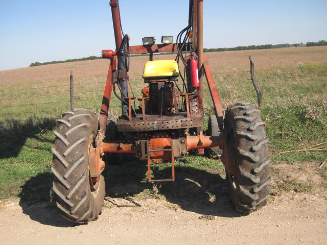 Reversed Allis Chalmers WD45 with Farmhand F11 Loader ...