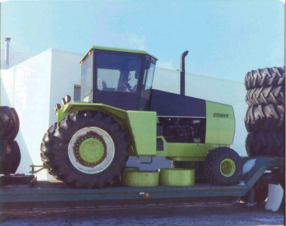 Farm Tractor 2 Wheel : First time i ever saw a steiger proto type wd from the