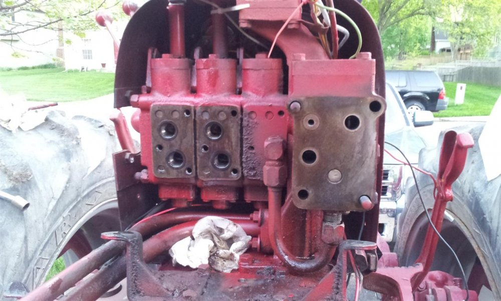 farmall 450 hydraulic flow diagram farmall 560 hydraulic