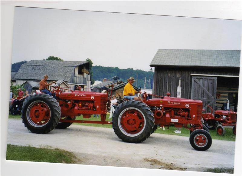 Tractors Hooked Together : Red wd and steiger tractors wanted for upcoming book