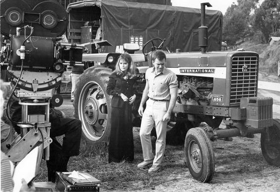 Farmall 656 on the set of Mayberry RFD.jpg
