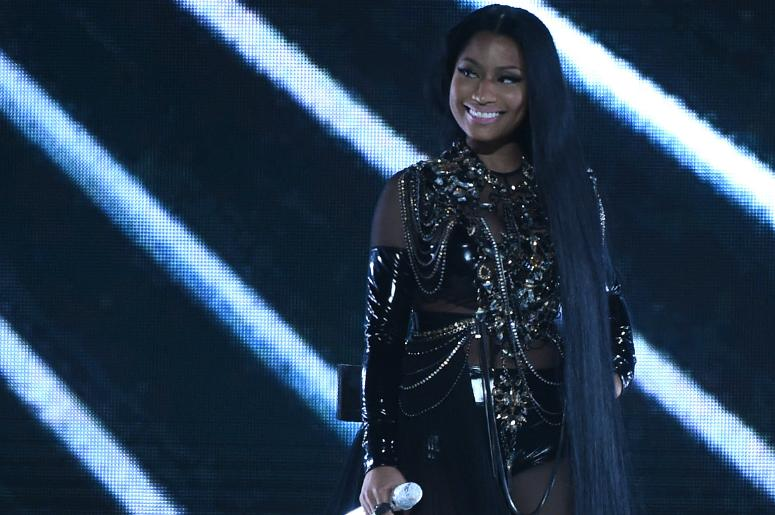 Nicki Minaj performs on the 2017 Billboard Music Awards at the T-Mobile Arena on May 21, 2017 in Las Vegas, Nevada.