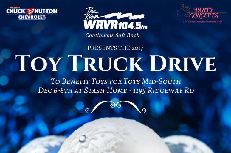 2017 Toy Truck Drive On The River. Stash Furniture