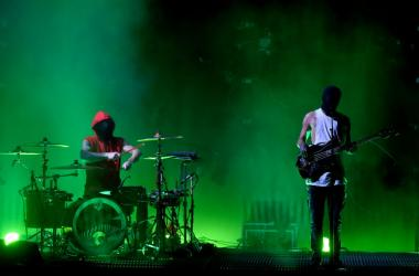 Josh Dun and Tyler Joseph of Twenty One Pilots perform onstage