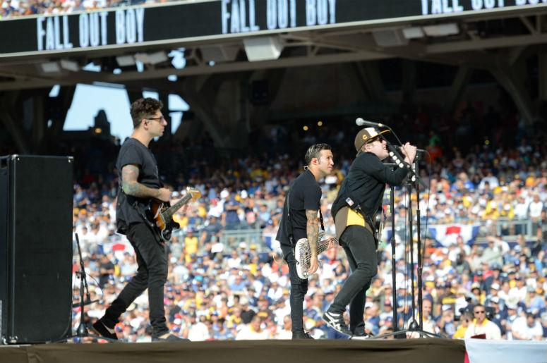 Fall Out Boy perform live