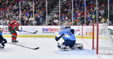 Admirals Fall to the Wild 5-3