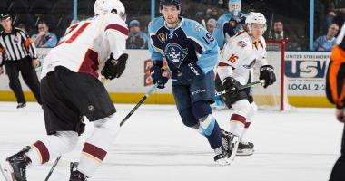 Admirals Fall 5-0 to Cleveland