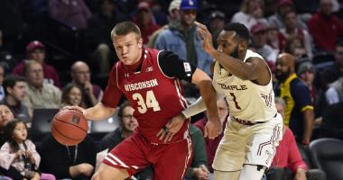 Badgers lose to Temple 59-55