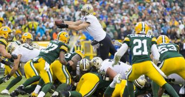 Packers fall to Saints 26-17