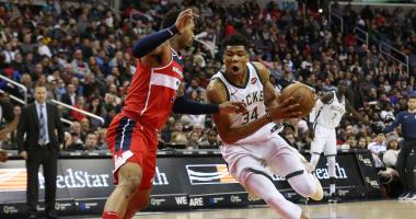 Giannis Antetokounmpo to miss two games as Bucks manage his right knee ailment