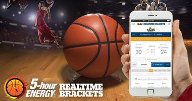 Track your 5-hour ENERGY real time brackets!