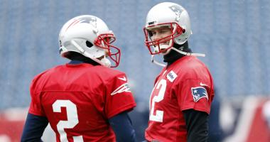 Tom Brady misses practice three days before AFC title game, wears glove