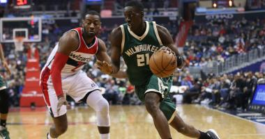 Wall to be game-time decision against Bucks Monday