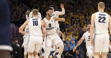 #10 Marquette hands Nova first Big East loss with narrow 66-65 win