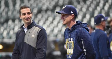 Report: Brewers deny Giants request to interview Stearns for President of Baseball Ops.