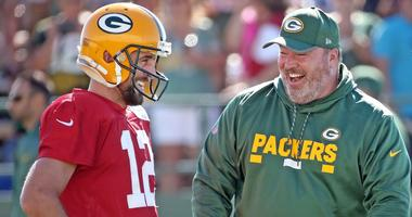 Rodgers on McCarthy: 'We have a great relationship'