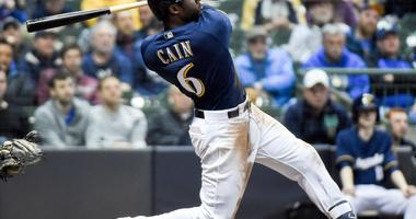 Lorenzo Cain Stops In KC