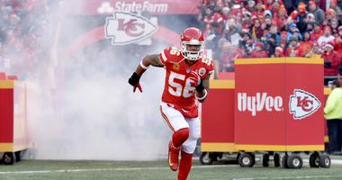 Chiefs Announce Derrick Johnson Will Become a Free Agent