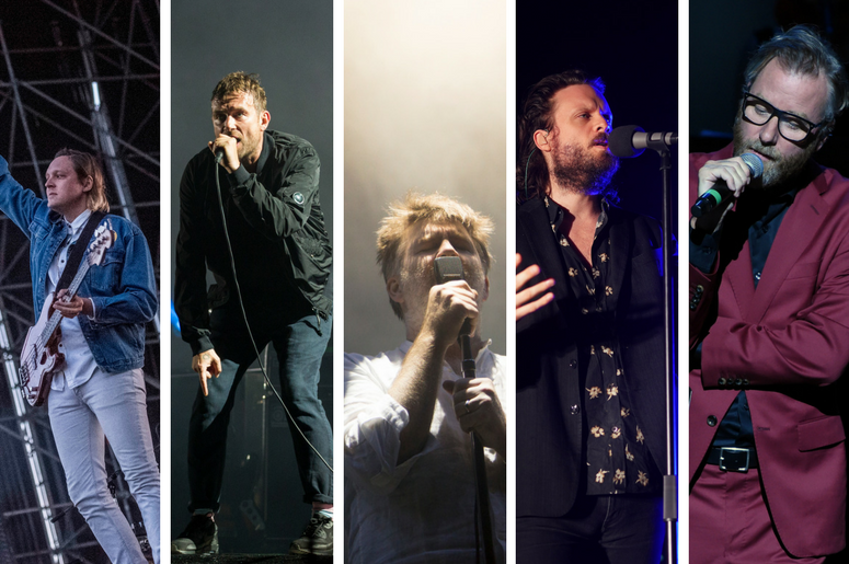 Arcade Fire, Gorillaz, LCD Soundsystem, Father John Misty, and The National