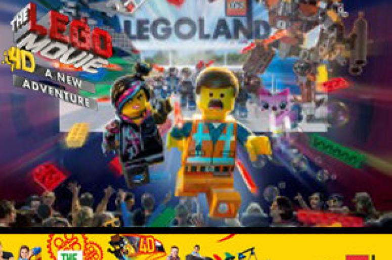 Check out The Lego Movie 4D: A New Adventure at LEGOLAND Discovery ...