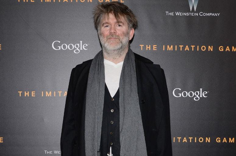 Musician James Murphy attends 'The Imitation Game' New York Premiere at the Ziegfeld Theater in New York, NY, on November 17, 2014.