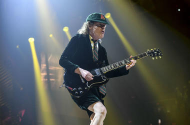 Angus Young of AC/DC