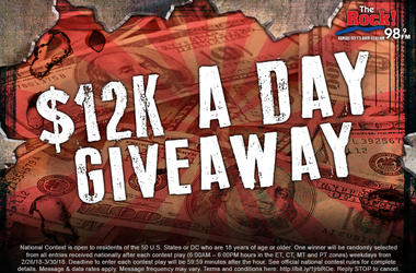 $12K A Day Giveaway