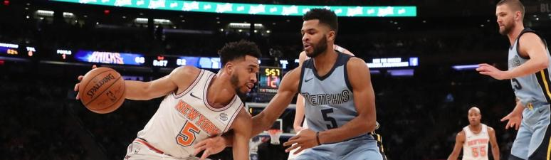 Grizzlies Lose at MSG 99-88 to Knicks
