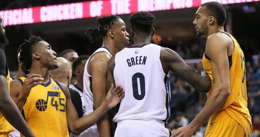 Grizzlies Drop 16th Straight Game Friday vs. Utah 95-78