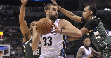 Grizz Drop 18th Straight, 121-103 to Bucks on Monday