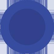 circle - blue - 175x175
