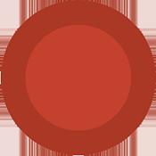 circle - red - 175x175