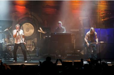 Nicosia Cyprus, May 8 2011: Deep Purple rock band give one of the best live rock concerts in the island.