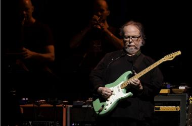 Steely Dan guitarist Walter Becker performs at the Perfect Vodka Amphitheater