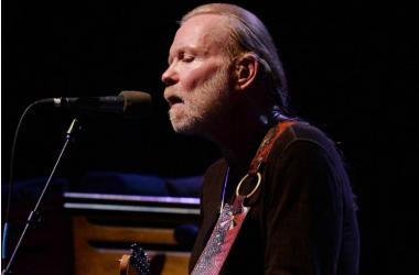 Recording artist Gregg Allman performs at the Hard Rock Live
