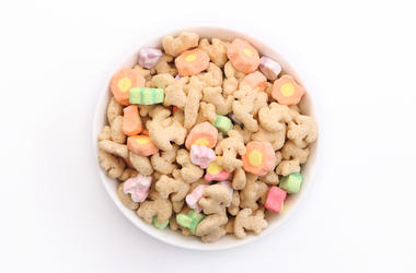 marshmallow cereal, Lucky Charms,