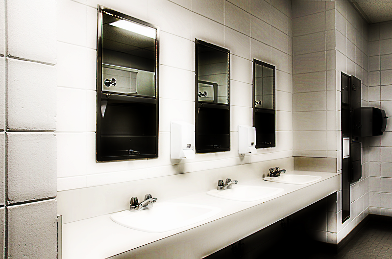 school bathroom mirror. Police Investigate Rape Report In Raytown Central Middle School Bathroom | 98.1 KMBZ FM Mirror