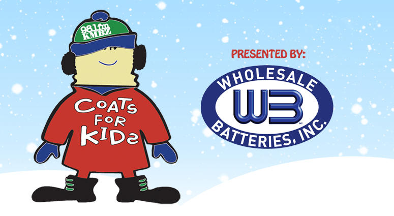 KMBZ Coats for Kids 2017 - presented by Wholesale Batteries
