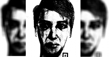 Composite drawing of serial rapist released again by Lawrence & Riley County PD