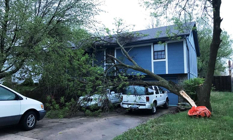 National Weather Service confirms tornado in rural Douglas County
