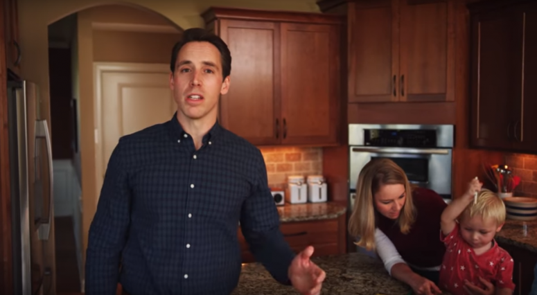 Hawley makes bids for Missouri US Senate seat official in video