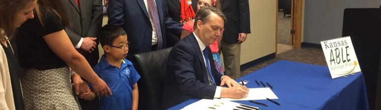 Kansas establishes tax-free savings accounts for disabled persons