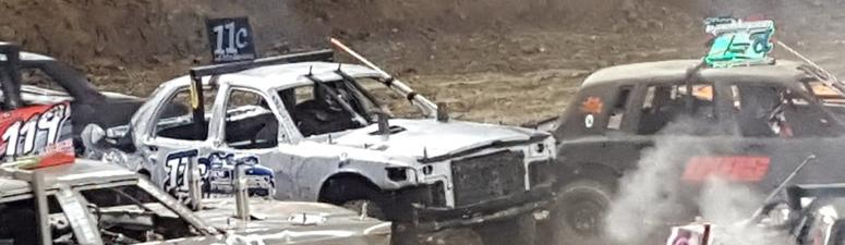 Smash 'em up! 20-year-old Kansan to defend his demolition derby titles this weekend
